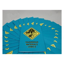 Hazardous Materials Labels Employee Booklet - in English or Spanish (package of 15)