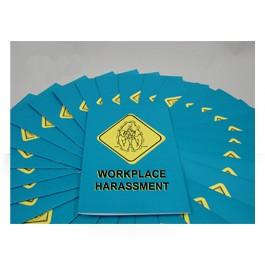 Workplace Harassment  Employee Booklet - in English or Spanish (package of 15)