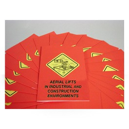 Aerial Lifts Employee Booklets - in English or Spanish (package of 15)