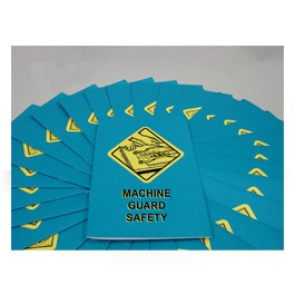 Machine Guard Safety Employee Booklet