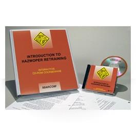 Introduction to HAZWOPER Retraining CD-ROM Course