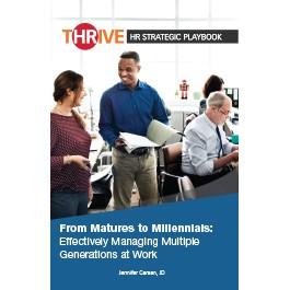 THRIVE HR Strategic Playbook: From Matures to Millennials