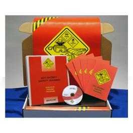 DOT HAZMAT Safety Training Regulatory Compliance Kit - in English or Spanish
