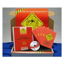 DOT HAZMAT Security Awareness Regulatory Compliance Kit - in English or Spanish