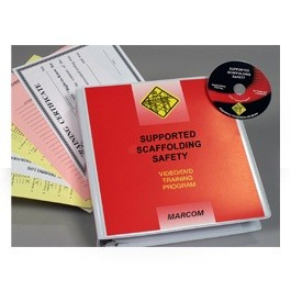 Supported Scaffolding Safety DVD Program - in English or Spanish