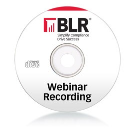 2012 FMLA Compliance Virtual Summit Recording