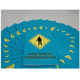 Active Shooter: Surviving an Attack Employee Booklet