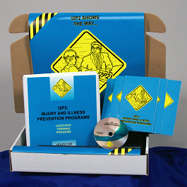 I2P2 Injury and Illness Prevention Programs Safety Meeting Kit (DVD Format)