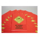 DOT HAZMAT Security Awareness Employee Booklet - in English or Spanish (package of 15)