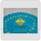 Safety Showers & Eye Washes Employee Booklet - in English or Spanish (package of 15)