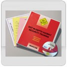 DOT In-Depth HAZMAT Security DVD Program - in English or Spanish