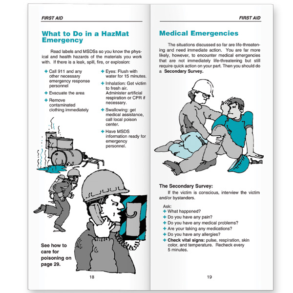 It's just a graphic of Clean Printable Pocket First Aid Guide
