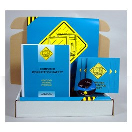 Computer Workstation Safety Safety Meeting Kit - in English or Spanish