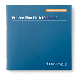 Pension Plan Fix-It Handbook