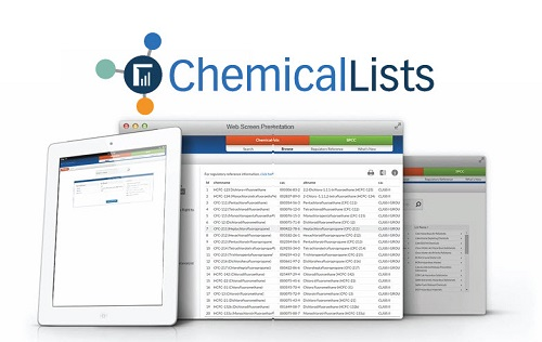 TRAC360 Chemical Lists